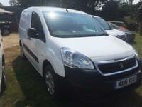 2016 Peugeot Partner 850 1.6 HDi 92 Professional Van 4 door Panel Van