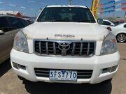 2003 Toyota Landcruiser Prado GRJ120R GXL White 4 Speed Automatic Wagon Maidstone Maribyrnong Area Preview