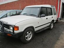 1998 Land Rover Discovery S White 4 Speed Automatic Wagon Tottenham Maribyrnong Area Preview