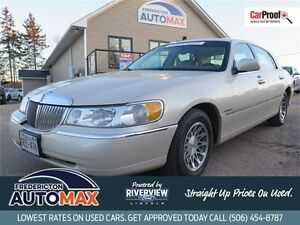 2002 Lincoln Town Car Cartier