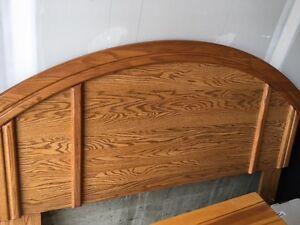 Queen Oak Headboard - $50