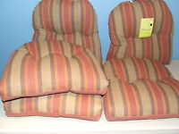 Quality Cushions for Wicker/Patio Chairs or Swing.