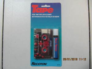Classic Recoton Model 150TC Head Cleaner & TapePath Cleaner 1999
