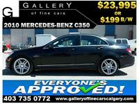 2010 Mercedes C350 4Matic $199 bi-weekly APPLY NOW DRIVE NOW