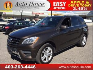 2013 Mercedes-Benz ML350 Bluetec Navi, Bcam, Roof 90 DAY NO PYMT