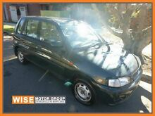 1998 Mazda 121 DW1051 Metro Green 5 Speed Manual Hatchback Granville Parramatta Area Preview
