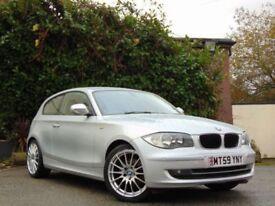 BMW 1 SERIES 2.0 116D SPORT 3d (silver) 2009