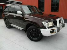 2001 Toyota Landcruiser HDJ100R GXL Red 4 Speed Automatic Wagon Molendinar Gold Coast City Preview