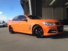 2013 Holden Commodore VF SS-V Redline Orange 6 Speed Manual Sedan Beckenham Gosnells Area Preview