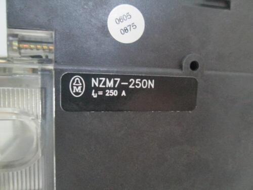 Moeller NZM7-250N Circuit Breaker W// DAOV-NZM7