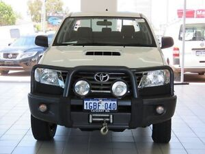 2014 Toyota Hilux KUN26R MY14 SR (4x4) White 5 Speed Automatic Dual Cab Pick-up Morley Bayswater Area Preview