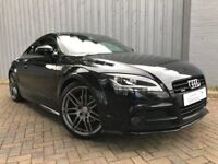 Audi TT 2.0 TDI Black Edition Quattro Mk2, Black, Stunning Car Throughout, Excellent Service History