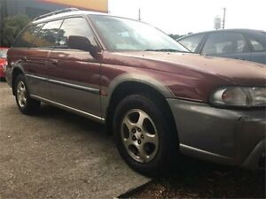 1998 Subaru Outback Burgundy Automatic Wagon West Ryde Ryde Area Preview