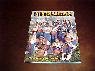 1984 Pitt Panthers Basketball Media Guide