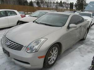 2003 Infiniti G35 Coupe w/Leather **CLEAN TITLE-NOT BRANDED**