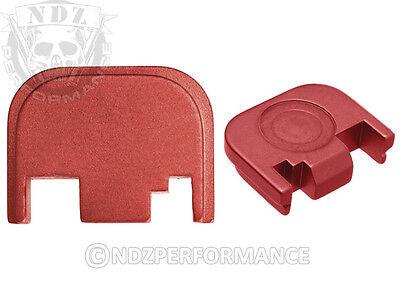 for Glock Slide Plate 17 19 21 22 23 27 30 34 36 41 Red Pick Lasered - Ruby Slide