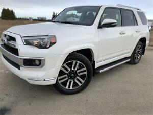 2018 Toyota 4Runner Limited 7passenger **5,036kms!!** ALMOST NEW