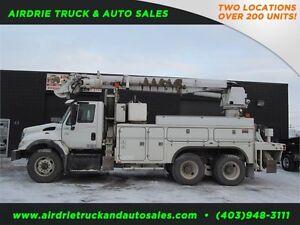 2004 International 7000 Digger Bucket Truck