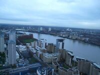 **CANARY WHARF**LUXURY VIEWING**HIGH STANDARDS APARTMENT**2 BED**2 BATH**