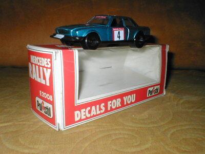 Modello auto Polistil Mercedes Rally scala 1/40 vintage usato  Arcene