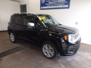 2017 Jeep Renegade Limited 4x4 LEATHER NAVI