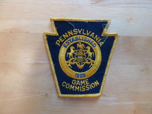 OBSOLETE PENNSYLVANIA GAME COMMISSION WARDEN  SHOULDER PATCH PA