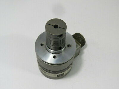 Bei Optical Rotary Encoder 10000ppr 5-28vdc Cw Coupling Used