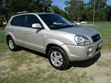2007 Hyundai Tucson City Silver 4 Speed Sports Automatic Wagon Strathpine Pine Rivers Area Preview