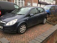 Vauxhall Corsa 1.4 Excluisve 5 door 2010 spares or repair