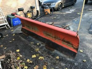 Snow Plow - 8' Commercial four way hydraulic Artic Plow