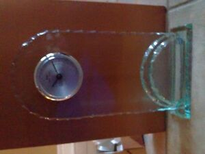 Brand new in box decorative tall glass clock London Ontario image 1
