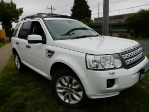 2011 Land Rover Freelander 2 LF MY12 SD4 SE White 6 Speed Sports Automatic Wagon Moorabbin Kingston Area Preview