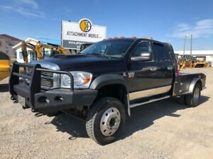 2009 Dodge Ram 5500 Quad Cab w/ slip tank & deck for sale!