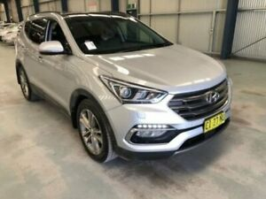 2016 Hyundai Santa Fe DM3 MY17 HIGHLANDER Silver Sports Automatic Wagon Dubbo Dubbo Area Preview