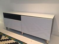 Ikea TV cabinet for sale, modern style.