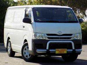 2008 Toyota Hiace TRH201R MY08 LWB White 5 Speed Manual Van Blair Athol Port Adelaide Area Preview