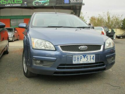 2006 Ford Focus  Blue 3 Speed Automatic Sedan Werribee Wyndham Area Preview