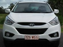 2013 Hyundai ix35 LM3 MY14 Trophy White 6 Speed Sports Automatic Wagon Stapylton Gold Coast North Preview