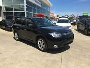 2012 Mitsubishi Outlander ZJ MY13 Aspire 4WD Black 6 Speed Constant Variable Wagon Hoppers Crossing Wyndham Area Preview