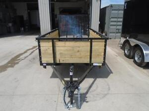 HIGH SIDED UTILITY TRAILER W/MORE FEATURES 5X10 BED SIZE London Ontario image 5