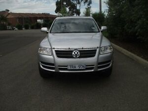 2005 Volkswagen Touareg 7L R5 TDI Luxury Silver 6 Speed Tiptronic Wagon Hoppers Crossing Wyndham Area Preview