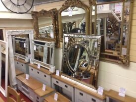 Over 400 Different New mirrors 1-8ft all available now £5-£499 OPEN SUNDAY 1-3pm