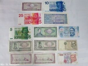 13 ASSORTED CURRENCY FROM VARIOUS COUNTRIES