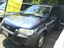 2001 Ford Escape BA XLS 4 Speed Automatic Wagon Jewells Lake Macquarie Area Preview