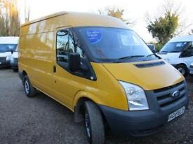 2011 Ford Transit 2.4 tdci 115 PS NO VAT MWB MED ROOF GENUINE MILES
