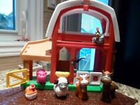 Fisher Price Little People Animal Sounds Farm & See and Say Farm