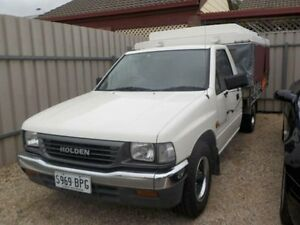 1996 Holden Rodeo TFG6 LX White 5 Speed Manual Manningham Port Adelaide Area Preview