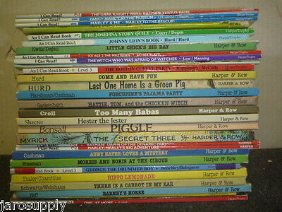 Lot of 10 An I Can Read Child Beginning Readers Learn to Kids Books MIX UNSORTED