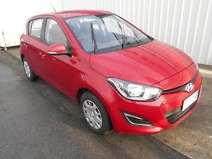 2015 Hyundai i20 PB MY14 Active Red Passion 4 Speed Automatic Hatchback South Burnie Burnie Area Preview