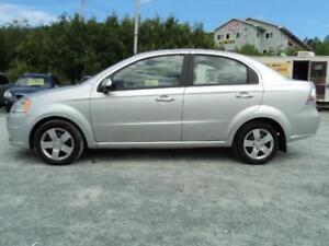 69$ BI WEEKLY! FROM $6990 TO $4990 2010 Chevrolet Aveo-73 KM!!